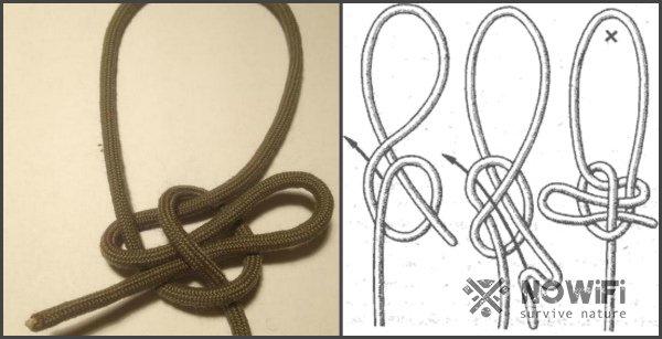 схема вязания калмыцкий морской узел