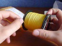 Желтая леска