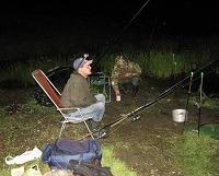 Ночная рыбалка на ловлю сома