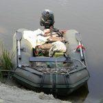 Рыбалка в проводку на течении с лодки