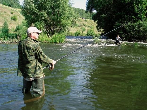 Донная снасть для ловли на течении