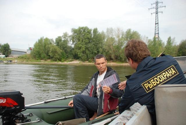 Инспектор и рыбак