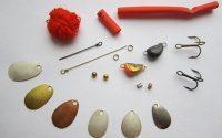 Материалы для изготовления блесен