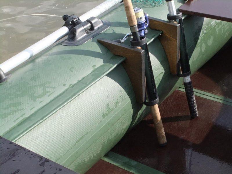 подставка для троллинга на лодку