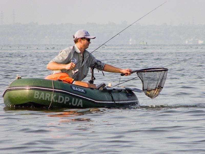 Рыбалка с лодки