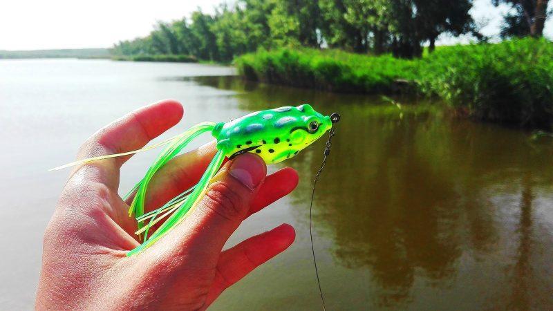 искусственная лягушка для рыбалки своими руками